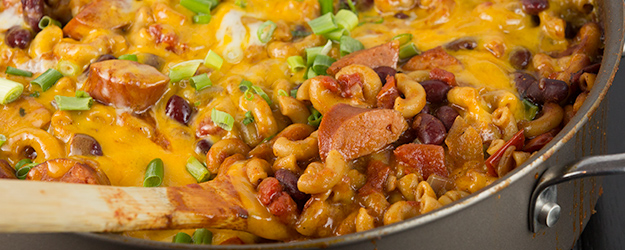 one pot spicy chili mac 1