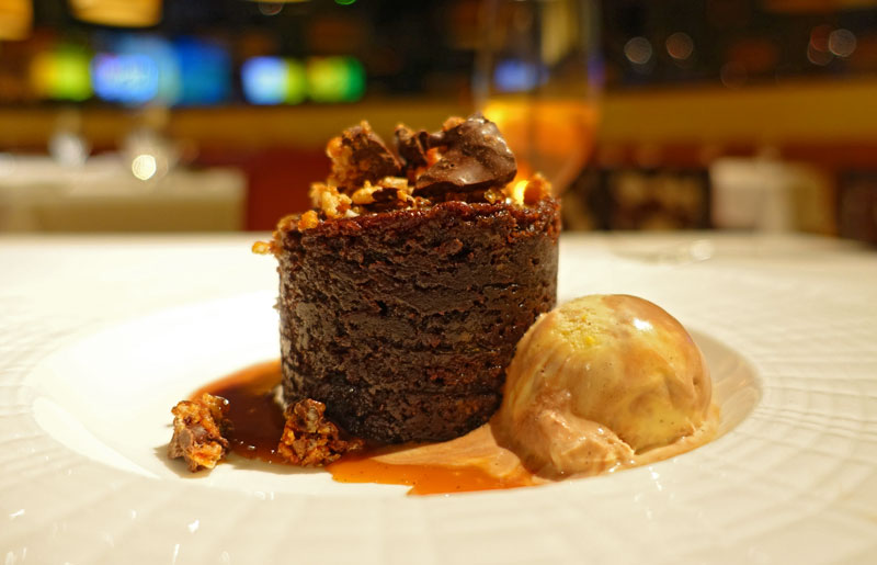 Sticky Toffee Pudding at Mesa Grill