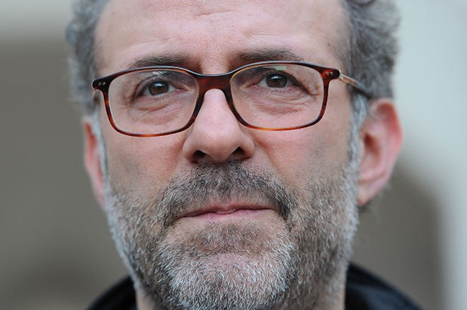 Massimo Bottura, owner and chef at Italian restaurant Osteria Francescana attends the 2012 World's 50 Best Restaurants awards at the Guildhall in London on April 30, 2012.