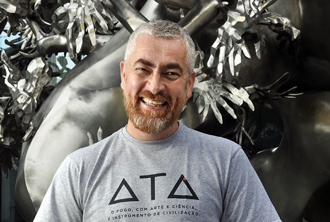 Chef Alex Atala is pictured in Toronto on October 15, 2013.