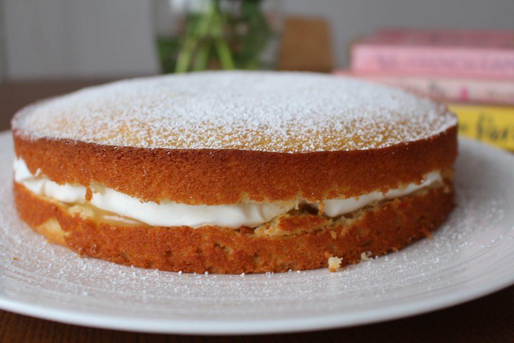 Lemon Curd Cake Seattle