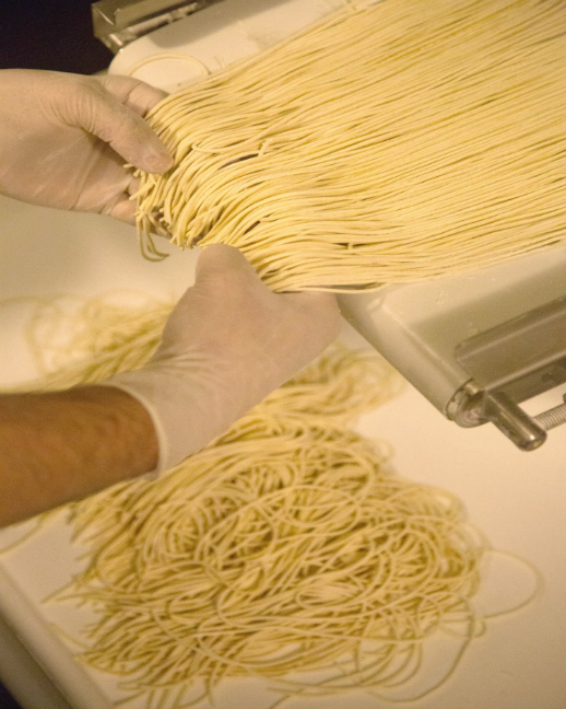 Strings Ramen Noodle Making