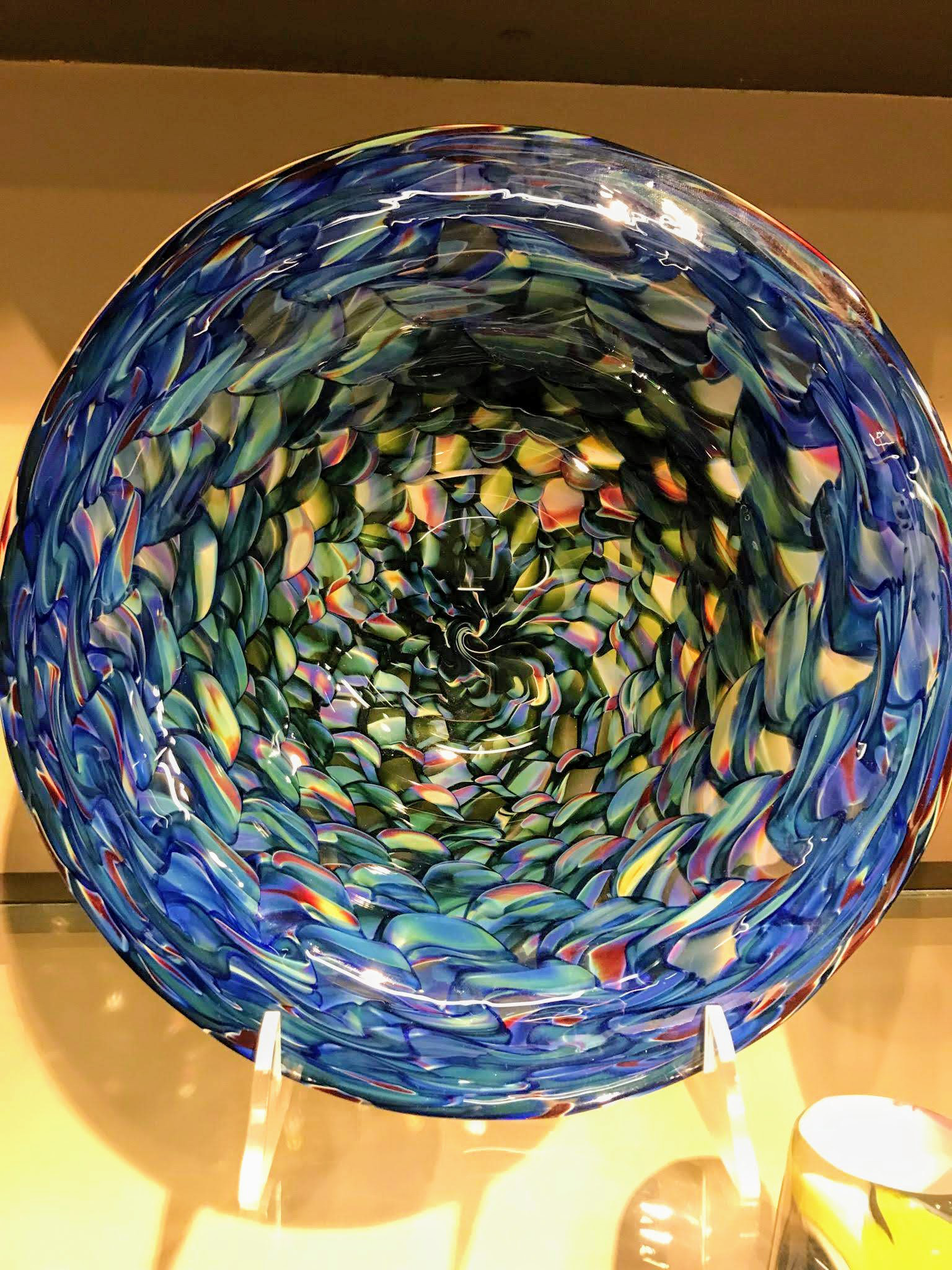 Dan Sviland Glass Bowl