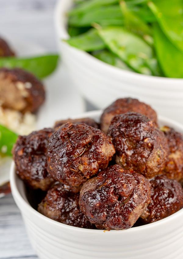 asian glazed meatballs 5
