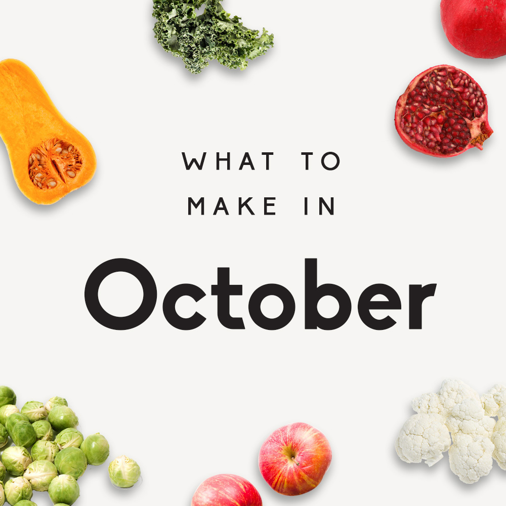 what to make in october