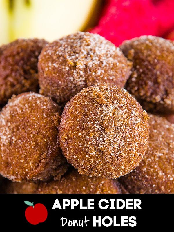 baked apple cider donut holes 2