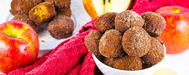 baked apple cider donut holes 1