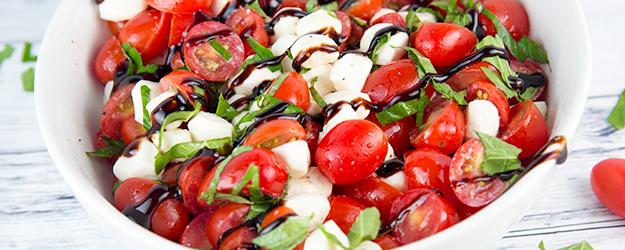 How to Make Chopped Caprese Salad