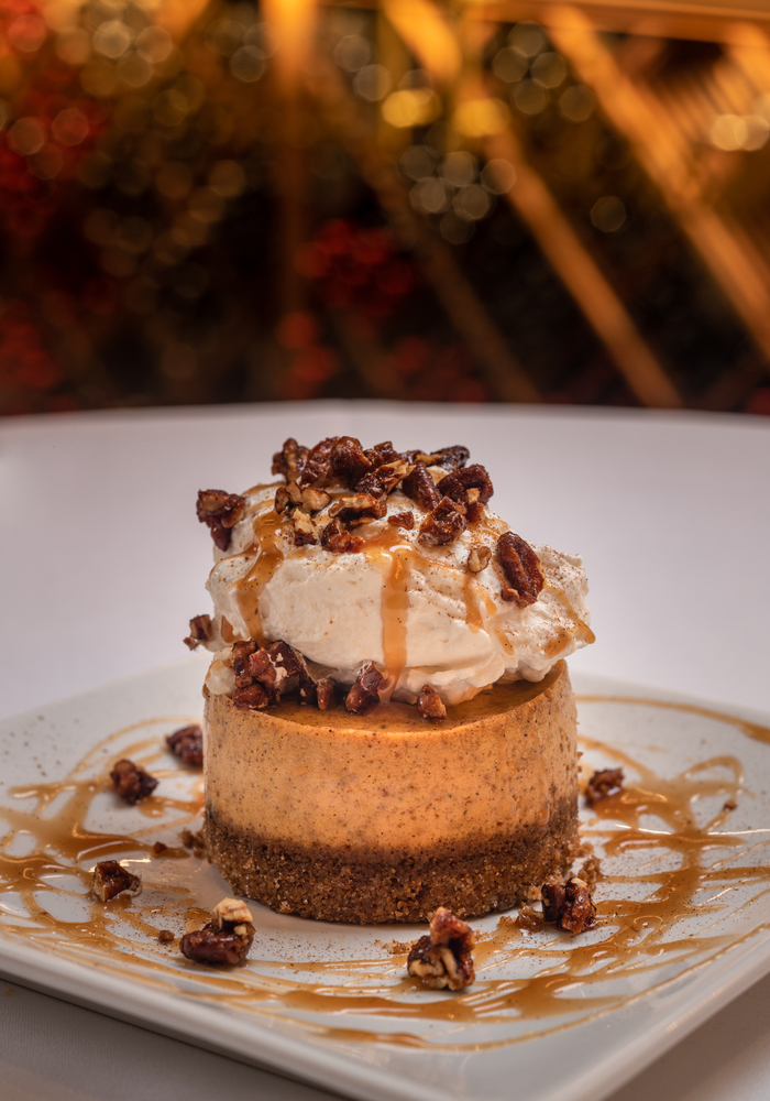 Perry's Pumpkin Cheesecake