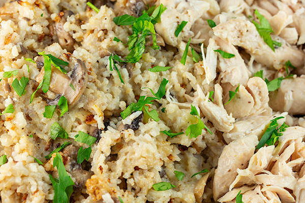 instant pot chicken rice 4