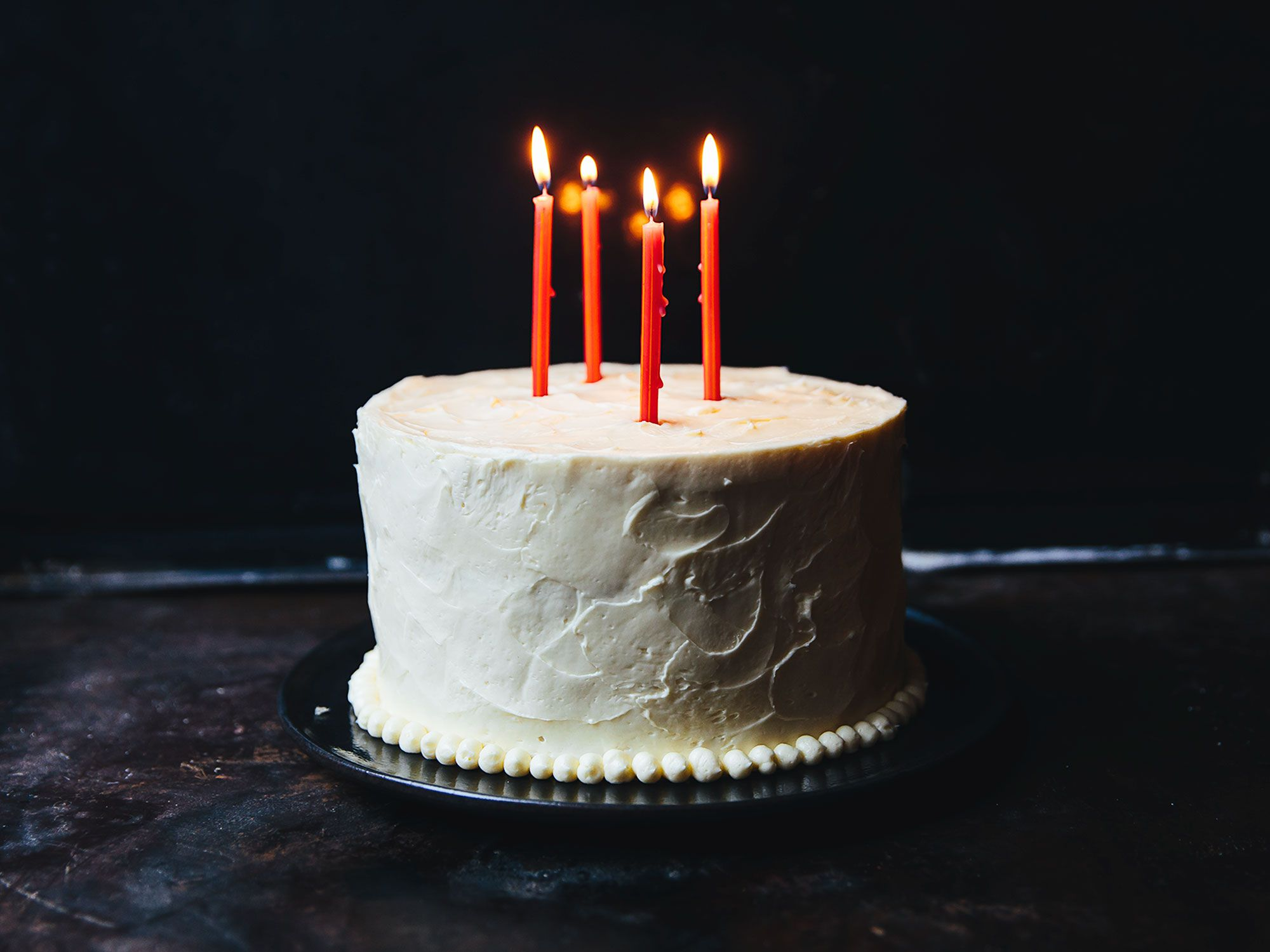 """A classic white cake recipe with a foolproof frosting. Get the recipe for <a href=""""https://www.saveur.com/best-white-layer-cake-recipe/"""">White Mountain Layer Cake with Marshmallow Buttercream</a>"""