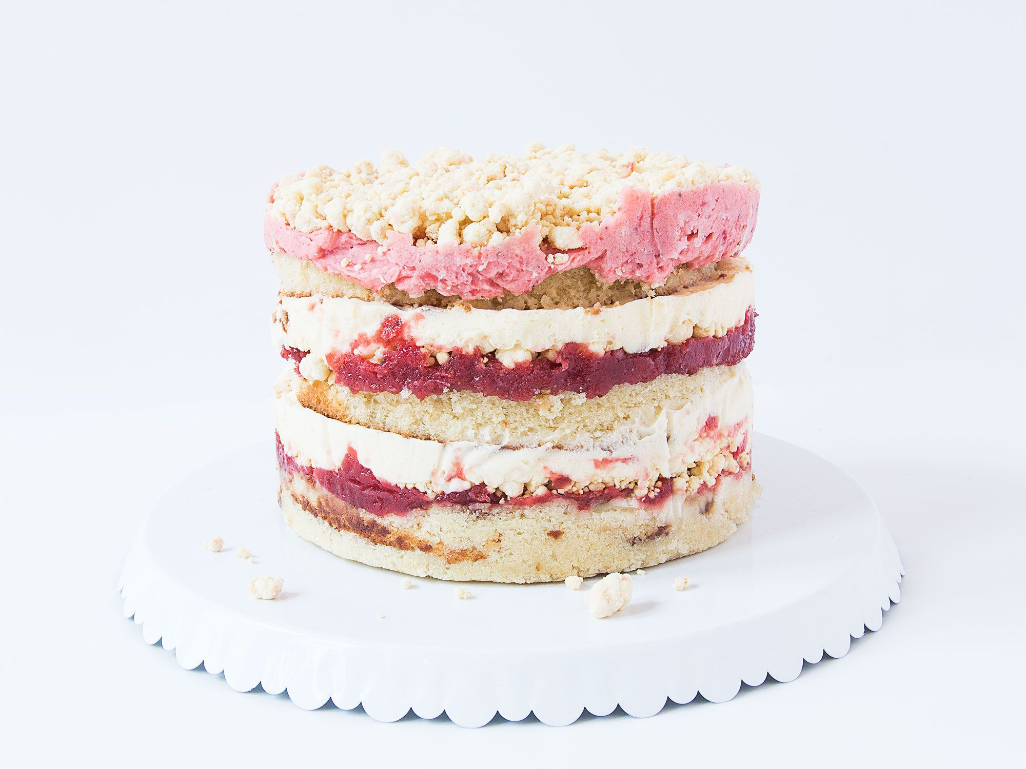 "This vanilla cake is anything but basic—the tang of buttermilk adds interest, while brown sugar bumps the earthy vanilla notes. Christina Tosi uses it as the base for her towering, masterful Strawberry Lemon Layer Cake. Get the recipe for <a href=""https://www.saveur.com/vanilla-cake-recipe/"">Vanilla Cake</a>"