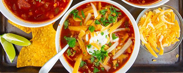 easy instant pot taco soup 1