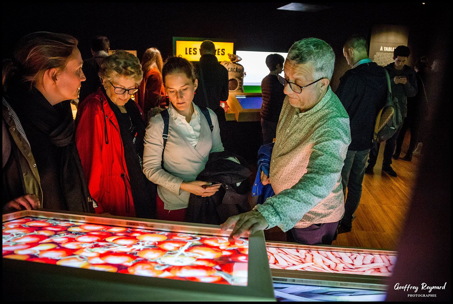 Many exhibits employ vivid touchscreens, though the material is light on substance.