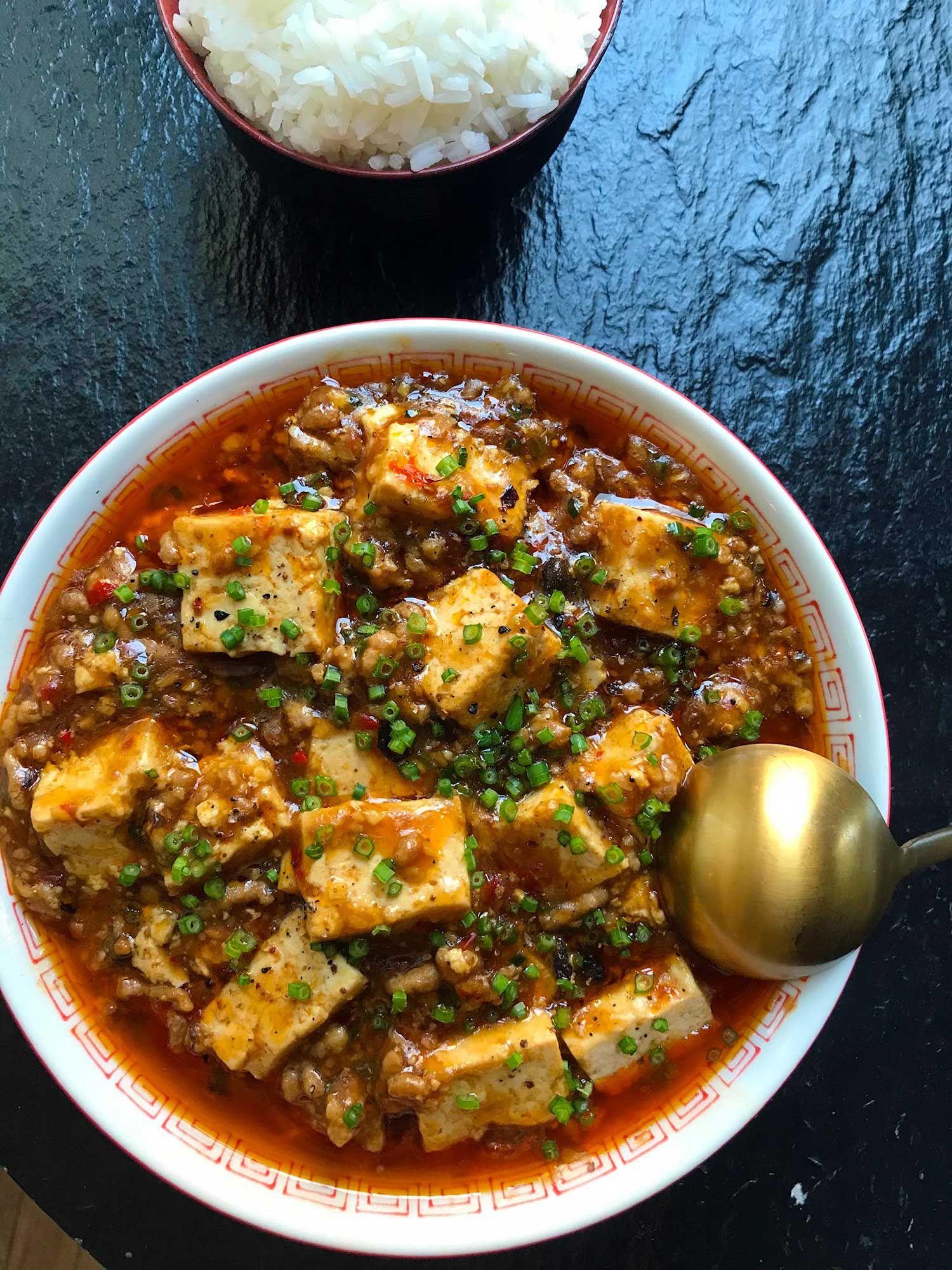 "<a href=""https://www.saveur.com/article/Recipes/Mapo-Tofu/"">Get the recipe for Mapo Tofu »</a>"