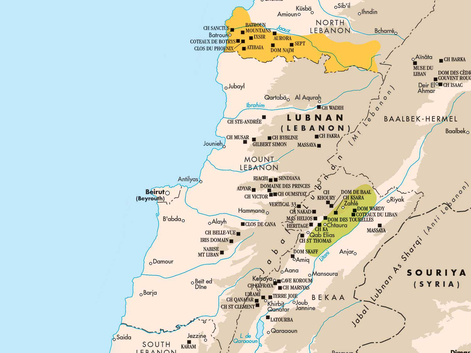 The latest edition of <em>The World Atlas of Wine</em> wants us to keep our eyes on Lebanon's vino.