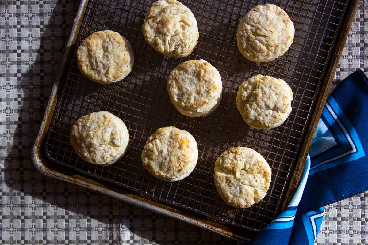 """This biscuit recipe from writer Liz Smith was one of the late Nora Ephron's favorites; it was included in Ephron's memorial service program. Get the recipe for <a href=""""https://www.saveur.com/article/recipes/liz-smiths-biscuits/"""">Liz Smith's Biscuits</a>"""