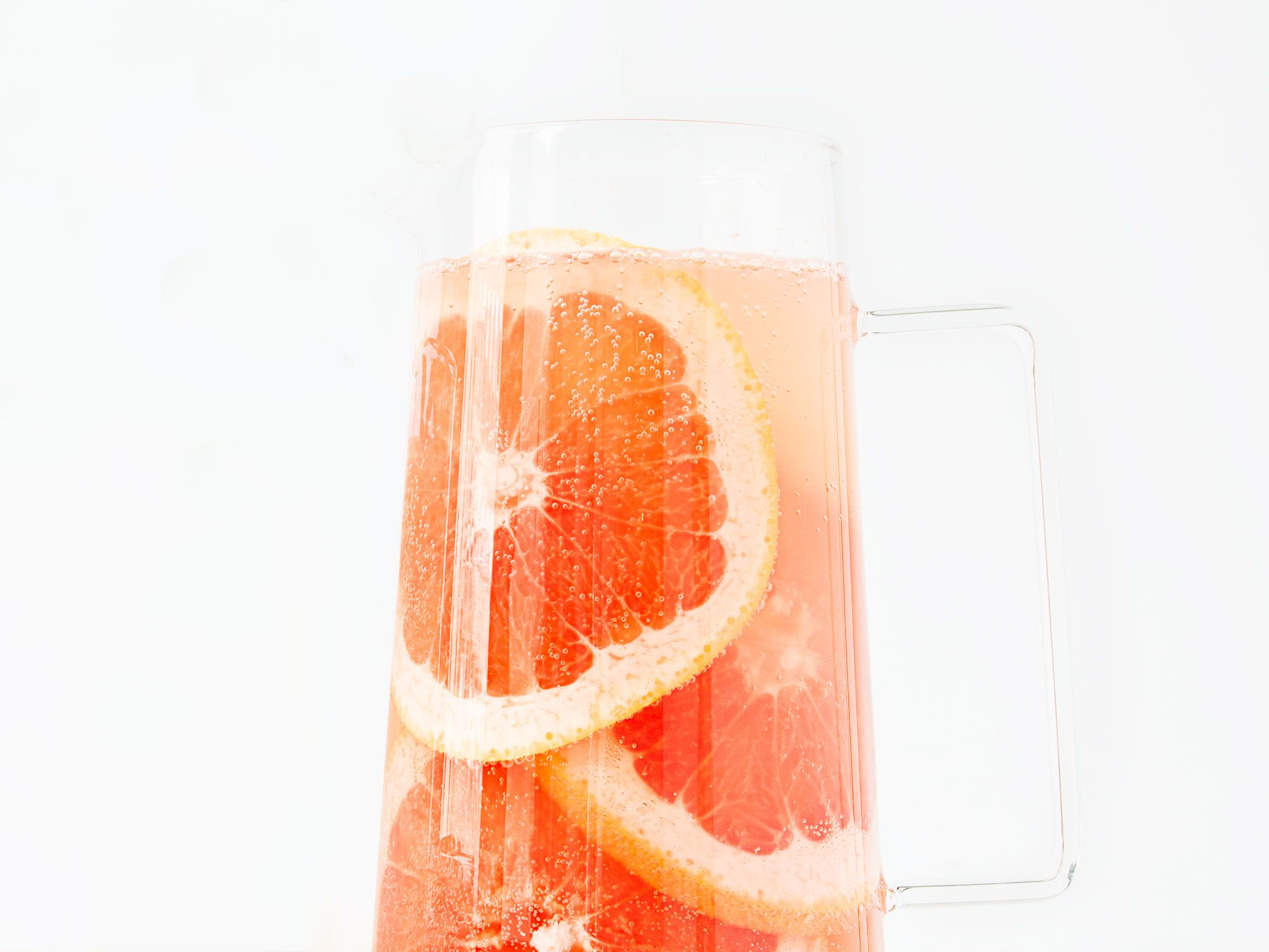 """Lambrusco rosé, Cocchi Americano, fresh grapefruit juice, and club soda come together in this simple spritz. Get the recipe for <a href=""""http://www.saveur.com/punch-house-spritz-cocktail-recipe"""">Punch House Spritz</a>"""
