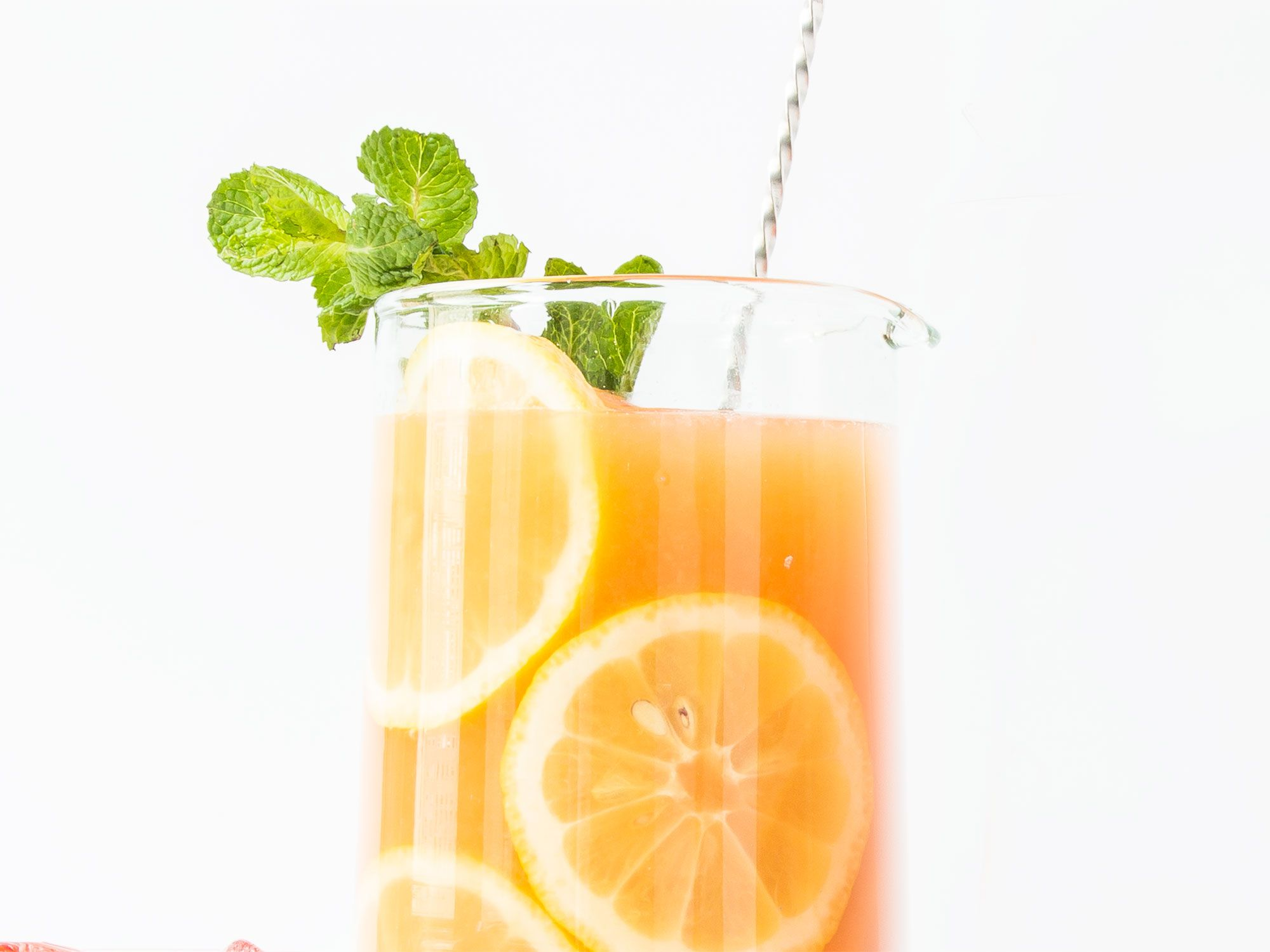 """A papaya shrub, easily made weeks in advance, adds earthy sweet-and-sour notes to this playful prosecco sparkler. Get the recipe for <a href=""""http://www.saveur.com/rose-all-day-cocktail-recipe"""">Rosé All Day</a>"""