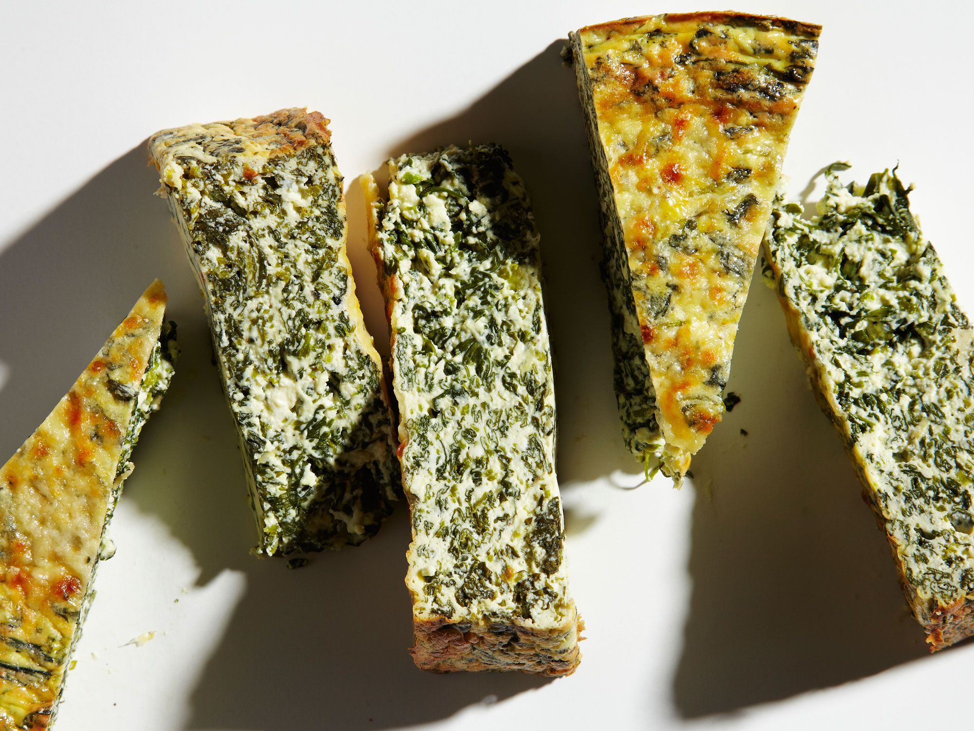 """Packed with grassy, spicy watercress and plenty of cheese, this frittata-like tart works wonders at brunch. Get the recipe for <a href=""""http://www.saveur.com/watercress-ricotta-frittata-torte-recipe"""">Watercress Ricotta Torte</a>"""