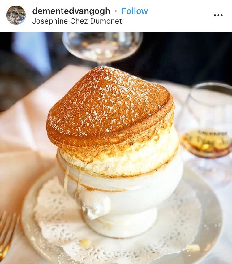 Josephine Chez Dumonet Paris souffle