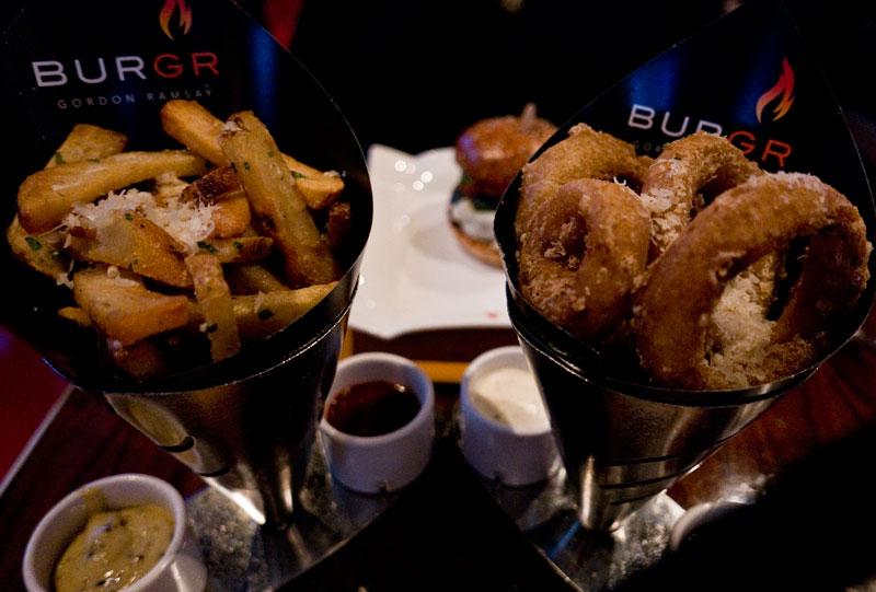 Rings & Fries at BURGR