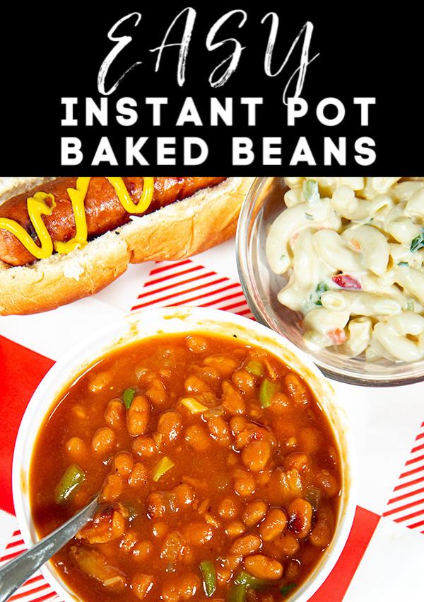easy instant pot baked beans 5