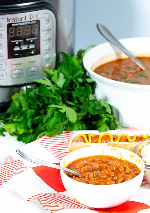 easy instant pot baked beans 4