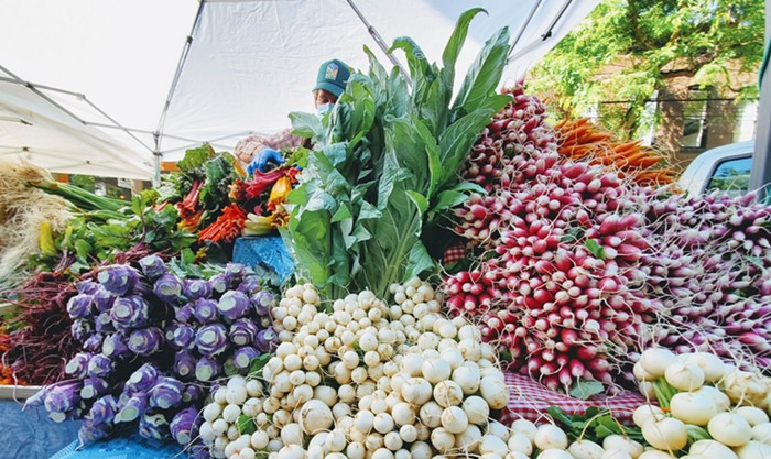 The Ballard Farmers Market is one of many to offer to online ordering this summer. Make your purchases during the week and pick up your bounty on Sundays!