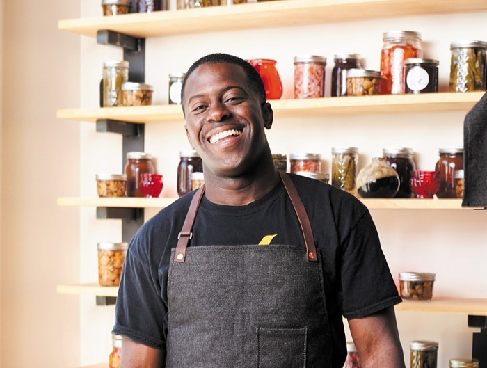 Chef Edouardo Jordan says hell keep his new pantry program open when they open in-house dining again. Because now people in Texas and Florida and South Carolina can enjoy our products, he told us.