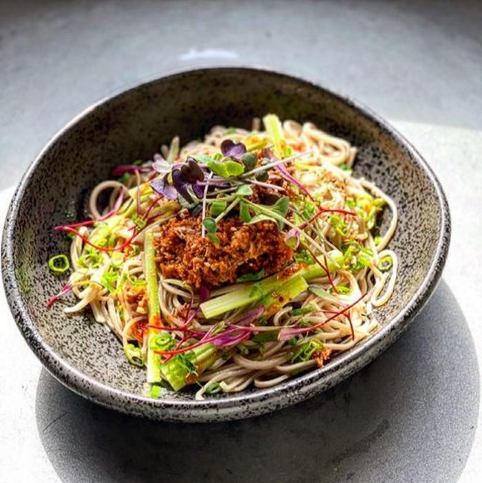 Chef Mutsuko Somas lauded Fremont restaurant Kamonegi will be serving its handmade soba noodles at Seattle Restaurant Week.