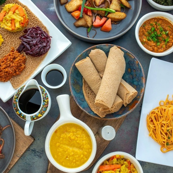 The Ethiopian and Eritrean bar and restaurant Shewa-Ber has arrived in the Central District.
