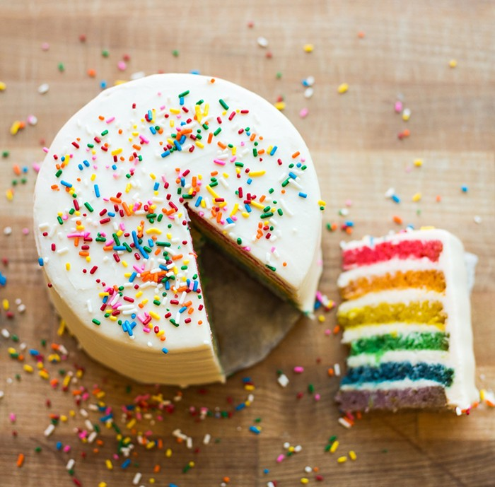 The Flora Bakehouse is selling whole rainbow cakes and will have slices available during Pride Weekend (June 26-27) to benefit the Trans Justice Funding Project.