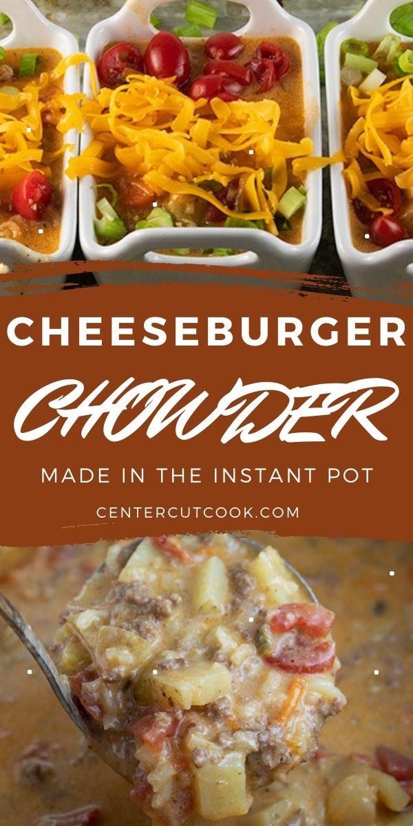 instant pot cheeseburger chowder 2
